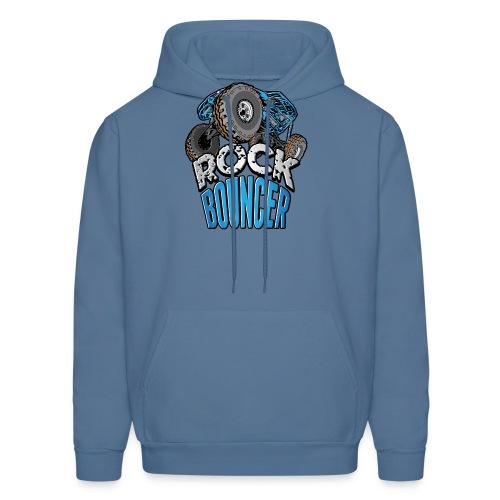 Rock Bouncer Blue - Men's Hoodie