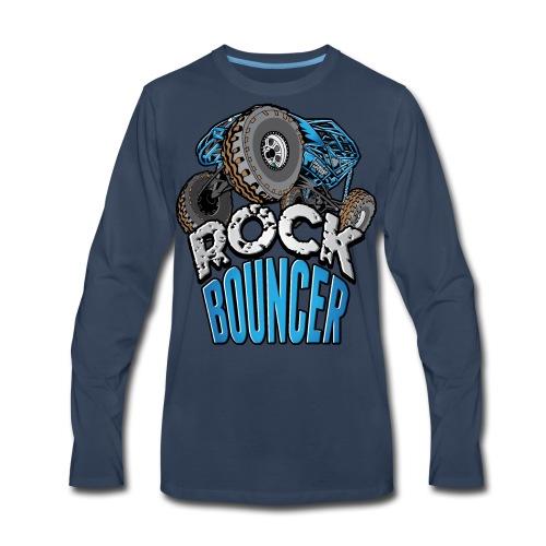 Rock Bouncer Blue - Men's Premium Long Sleeve T-Shirt