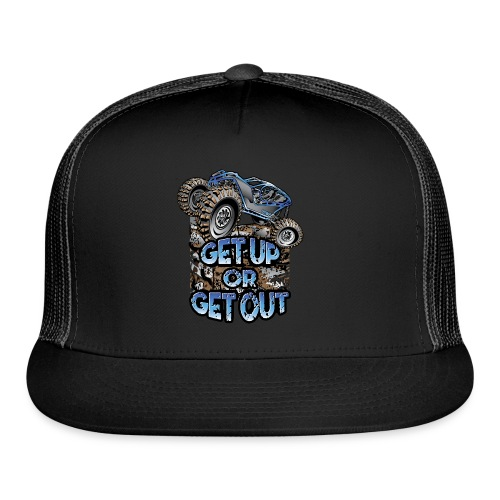 Rock Bouncer Up Out - Trucker Cap