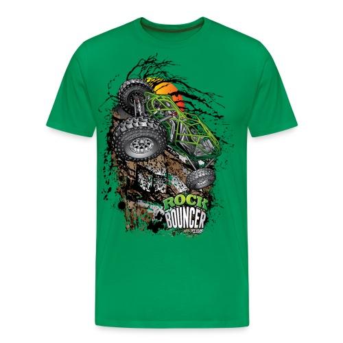 Rock Bouncer Sunset - Men's Premium T-Shirt