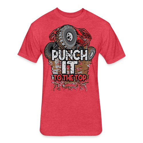 Rock Bouncer Punch It - Fitted Cotton/Poly T-Shirt by Next Level