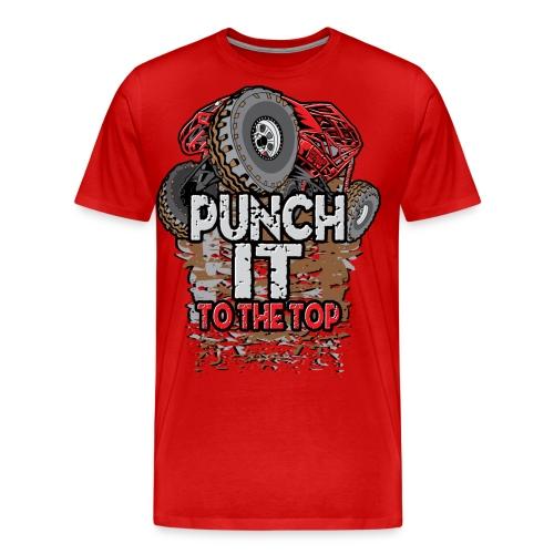 Rock Bouncer Punch It - Men's Premium T-Shirt