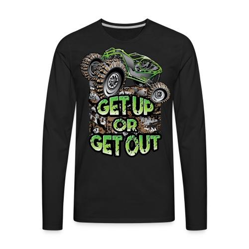 Rock Bouncer Up Out - Men's Premium Long Sleeve T-Shirt