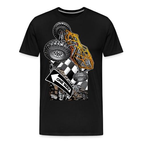 Rock Bouncer One Way - Men's Premium T-Shirt