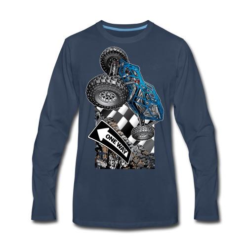Rock Bouncer One Way - Men's Premium Long Sleeve T-Shirt