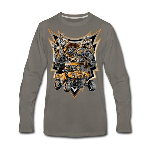 Extreme Motorsports KTM - Men's Premium Long Sleeve T-Shirt