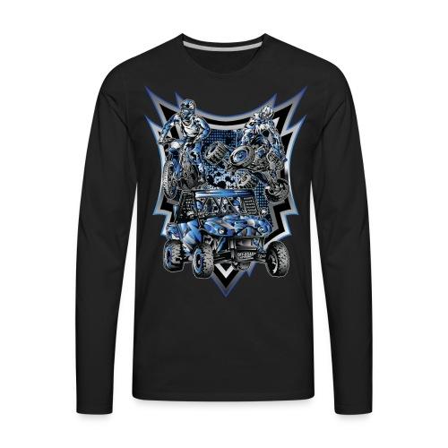 Extreme Motorsports Yamaha - Men's Premium Long Sleeve T-Shirt