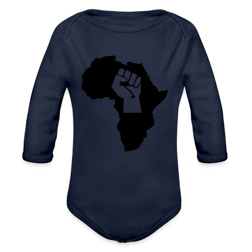 Power - Organic Long Sleeve Baby Bodysuit