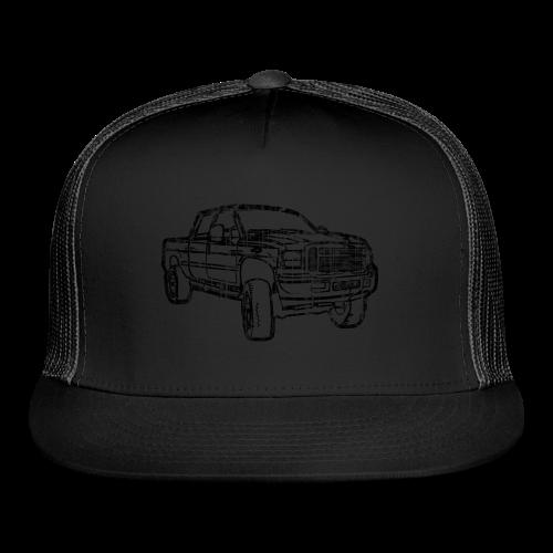 Ford F250 Grunge - Trucker Cap