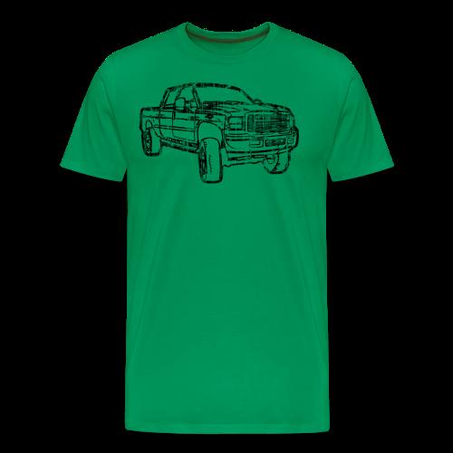 Ford F250 Grunge - Men's Premium T-Shirt