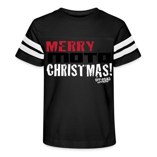 Merry Moto Christmas - Kid's Vintage Sport T-Shirt