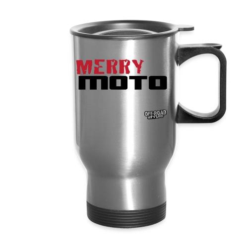 Merry Moto Christmas - Travel Mug