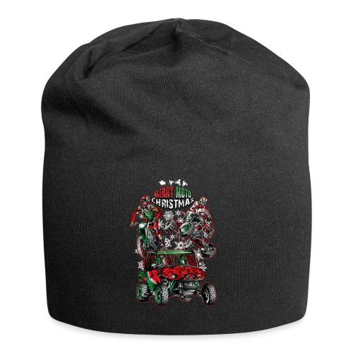 Merry Moto Christmas - Jersey Beanie