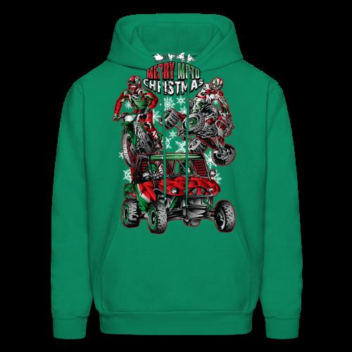 Merry Moto Christmas - Men's Hoodie