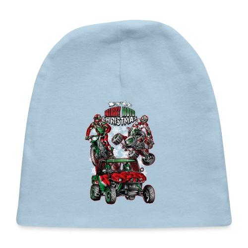 Merry Moto Christmas - Baby Cap