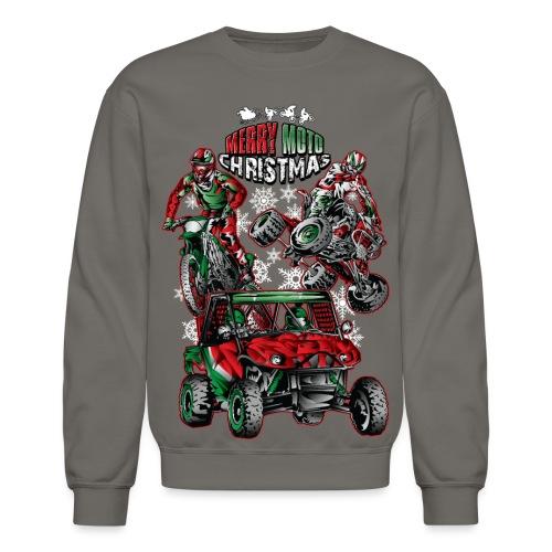 Merry Moto Christmas - Crewneck Sweatshirt