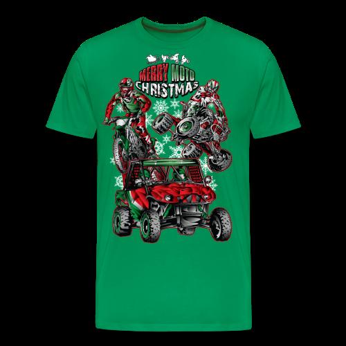 Merry Moto Christmas - Men's Premium T-Shirt