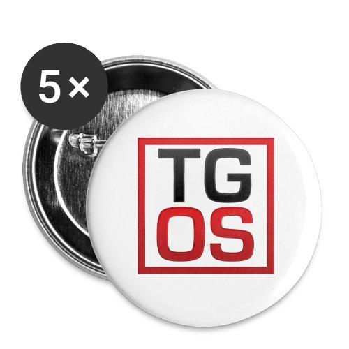 Women's White TGOS Tee - Small Buttons