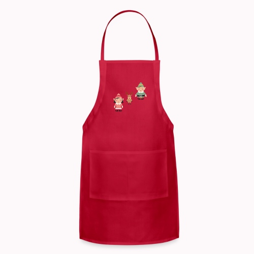 Twink and Belle Two Elves Women's Tee Shirt - Adjustable Apron