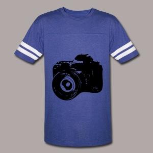 MENS T SHIRT - CAMERA - Vintage Sport T-Shirt