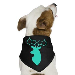 Turquoise DNA-deer Bag - Dog Bandana