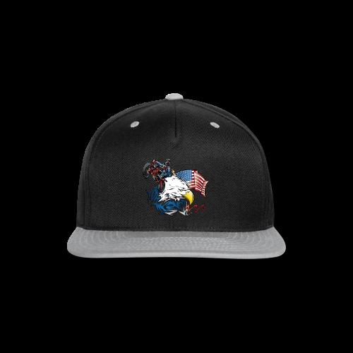 Motocross USA - Snap-back Baseball Cap