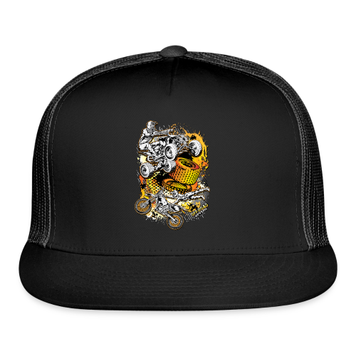 Motocross Mesh - Trucker Cap