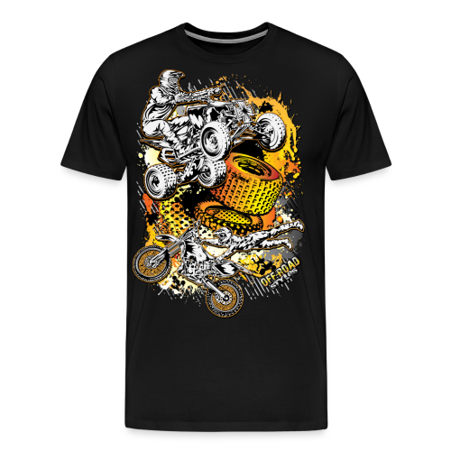 Motocross Mesh - Men's Premium T-Shirt