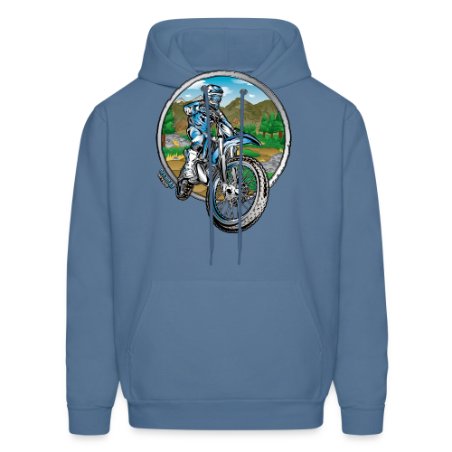 Motocross County Yamaha - Men's Hoodie