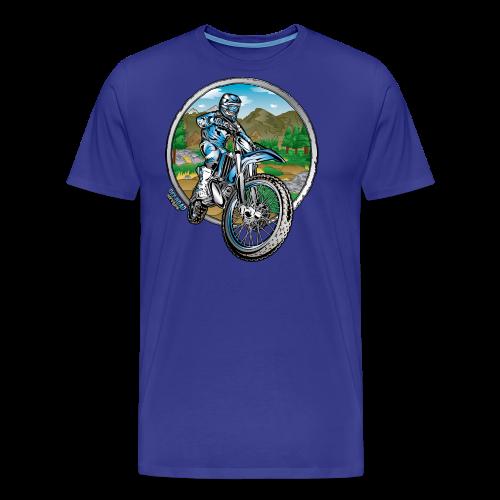 Motocross County Yamaha - Men's Premium T-Shirt