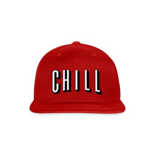 CHILL - Snap-back Baseball Cap