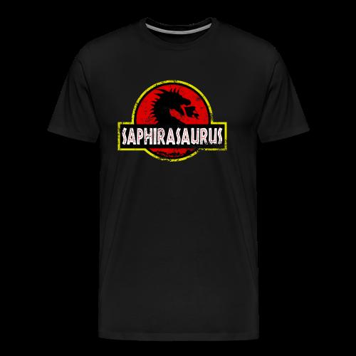 Saphirasaurus (Unisex) - Men's Premium T-Shirt
