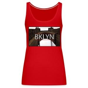 BKLYN - New York Series - Women's Premium Tank Top