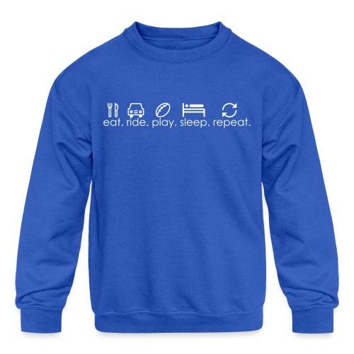 Football Sports Life - Little Kid - Kids' Crewneck Sweatshirt