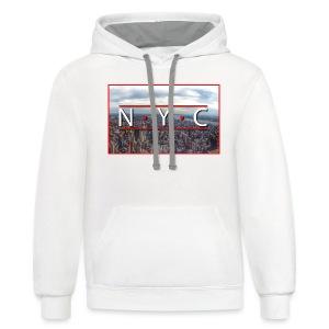 NYC - New York Series - Contrast Hoodie