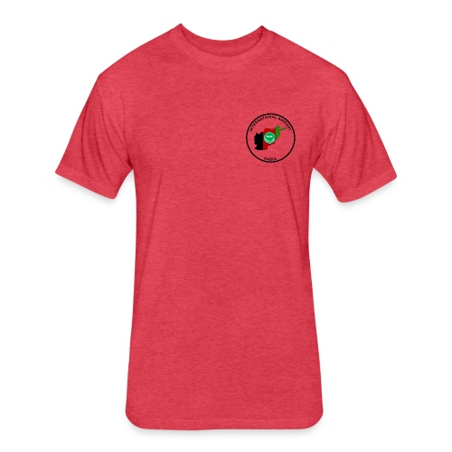 Kabul Red Roo T-Shirt - Brown - Fitted Cotton/Poly T-Shirt by Next Level