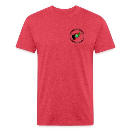 KAF Kandahar T-Shirt - Brown - Fitted Cotton/Poly T-Shirt by Next Level