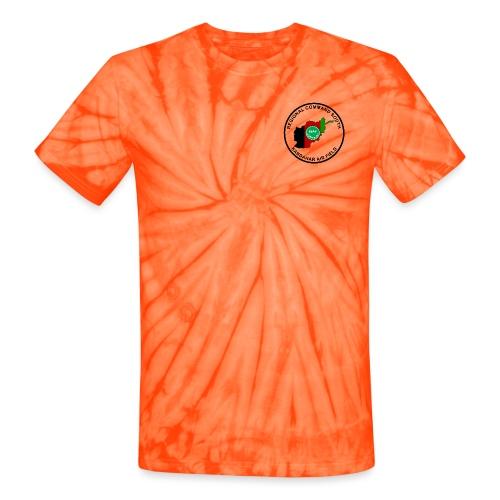 KAF Kandahar T-Shirt - Brown - Unisex Tie Dye T-Shirt