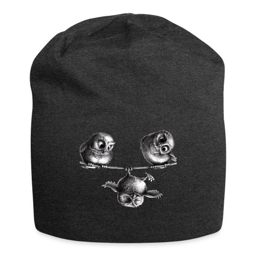 three owls - freedom & fun - Jersey Beanie