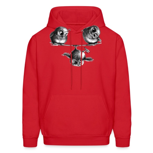 three owls - freedom & fun - Men's Hoodie