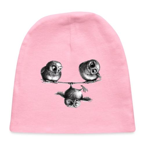 three owls - freedom & fun - Baby Cap