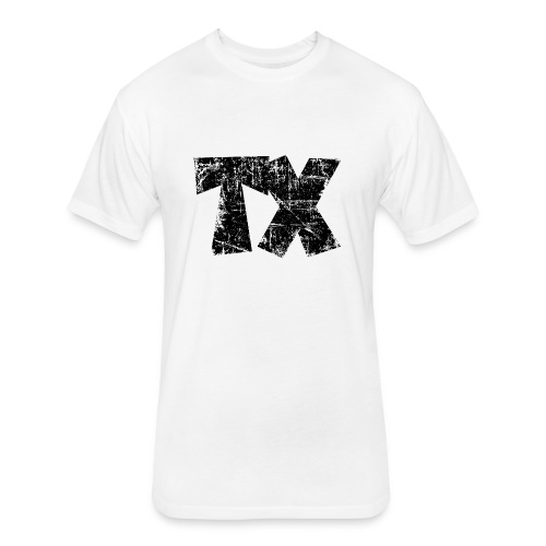 TX Texas T-Shirt (Children/White) - Fitted Cotton/Poly T-Shirt by Next Level
