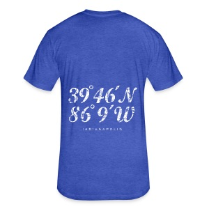 Indianapolis Coordinates Bag - Fitted Cotton/Poly T-Shirt by Next Level