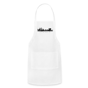 Indianapolis Skyline T-Shirt (Men/Gray) - Adjustable Apron