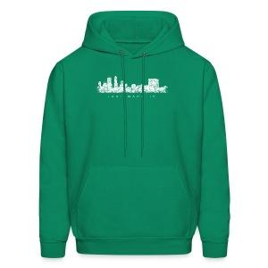 Indianapolis Skyline T-Shirt (Children/Green) - Men's Hoodie