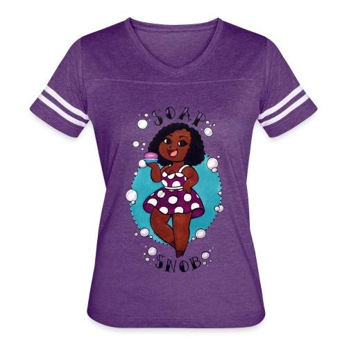 Woman's Soap Snob Tee - Women's Vintage Sport T-Shirt