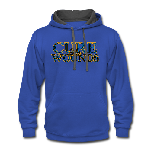Cure Lite Wounds - Contrast Hoodie