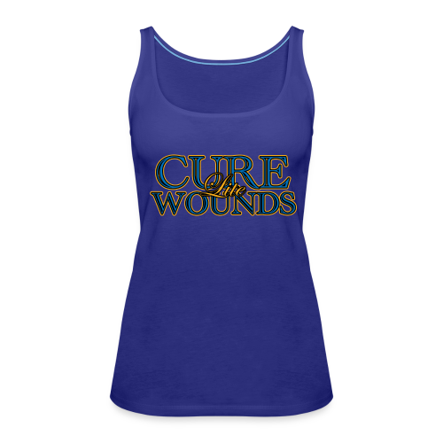 Cure Lite Wounds - Women's Premium Tank Top