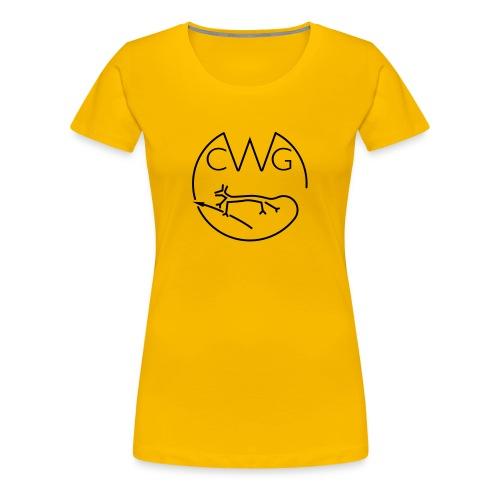 Women's Cotton CWG Logo - Women's Premium T-Shirt