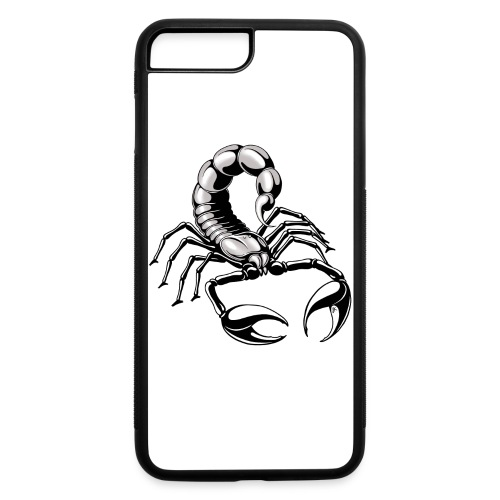 scorpion - silver - grey - black - iPhone 7 Plus/8 Plus Rubber Case